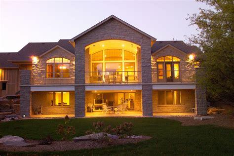 Stinson s Gables Basement house plans Lake house plans