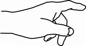 Clipart - Hand - Pointing Finger