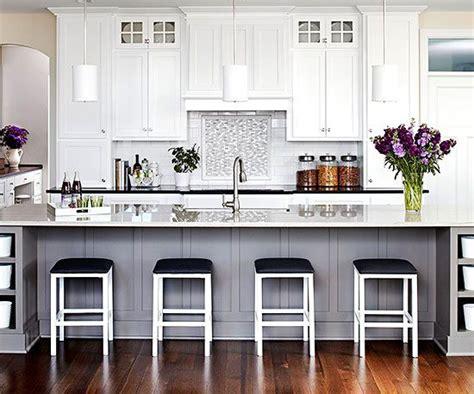 white grey pastels dwukolorowe meble kuchenne  color