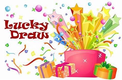 Lucky Draw Clipart Background Winners Voucher Winner