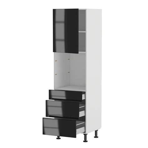 elements cuisine brico depot meuble cuisine colonne four 60 200 4 1 porte 3 achat