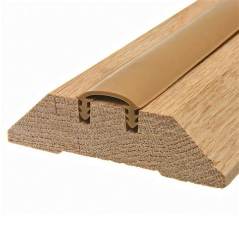 Interior Door Thresholds by Wood Thresholds King 174 Weatherization Products