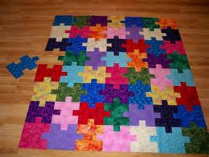 Jigsaw Puzzle Quilt Pattern