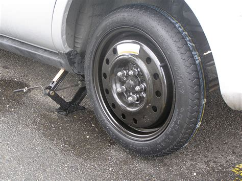 Why Is A Car's Spare Tire Smaller Than A Normal Tire