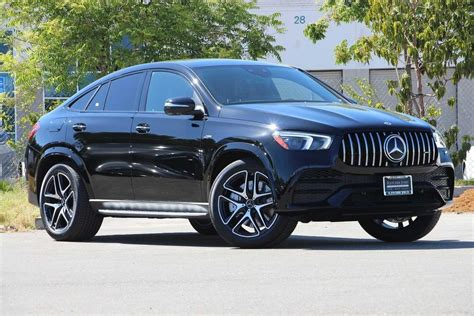 The fastback profile of the gle53 coupe costs more and swallows less stuff than its suv sibling. New 2021 Mercedes-Benz GLE AMG® GLE 53 4MATIC Coupe Coupe in Fremont #79114 | Fletcher Jones ...