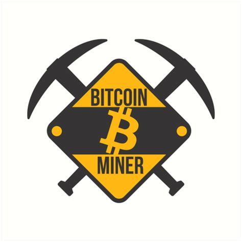 """Get inspired by our community of talented artists. """"Bitcoin Miner"""" Art Prints by goodspy   Redbubble"""