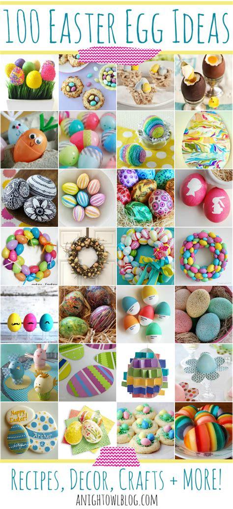easter egg ideas  night owl blog
