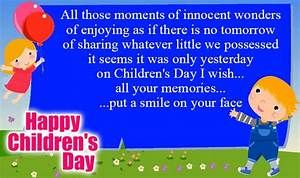 Happy Childrens Day Whatsapp Status and Facebook Messages ...
