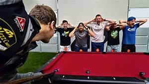 Dude Perfect Does Trick Pool Shots | 100.5 KWIQ