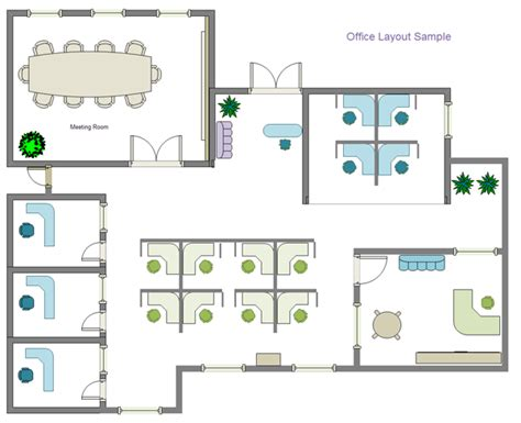 floor plan illustrations  plans  furniture layout