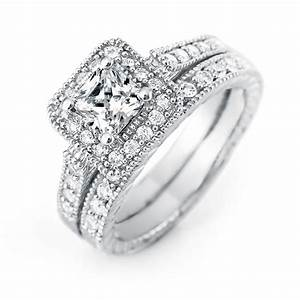 enjoy a high quality cheap princess cut wedding ring set With princess cut wedding ring sets cheap