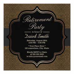 1000 images about retirement party invitations on With formal military wedding invitations