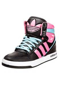 Girls High Top Adidas Shoes