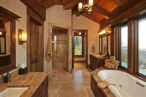 Plan On How To Create Elegant Rustic Bathroom Ideas