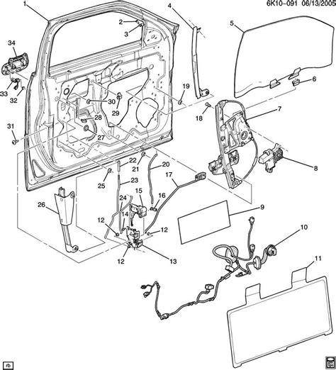 2006 Cadillac Srx Parts Diagram