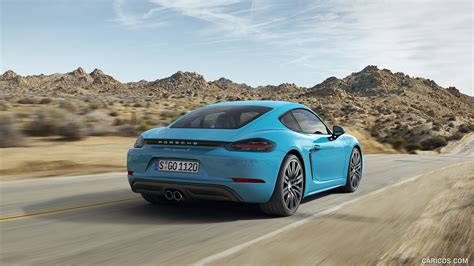 Car Wallpaper 2017 Portrait by 2017 Porsche 718 Cayman S Rear Hd Wallpaper 2