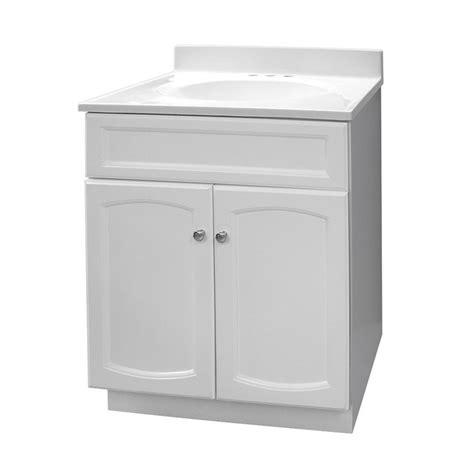 foremost  heartland single sink bathroom vanity white