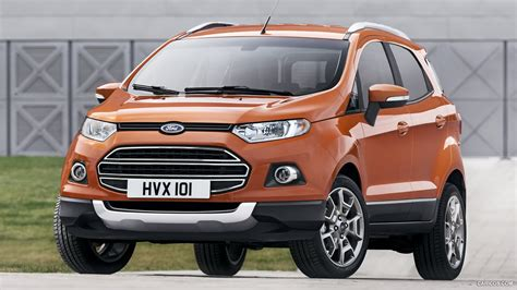 ford ecosport suv front hd wallpaper