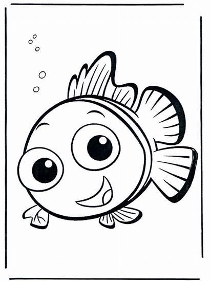 Nemo Coloriage Coloring Malvorlagen Colorare Fish Finding