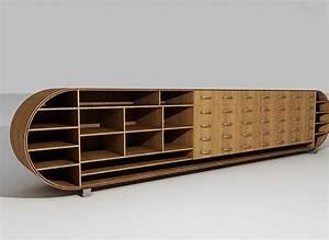 Meuble De Rangement Bas : meuble rangement bas design ~ Dailycaller-alerts.com Idées de Décoration