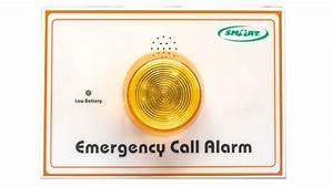 Smart Caregiver Wireless Bathroom Call Buttons