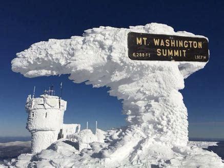 mount washington coldest places planet