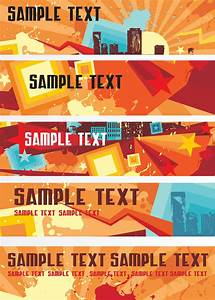 Banners Designs Templates Free Banner Templates Vector Art Graphics Freevector Com