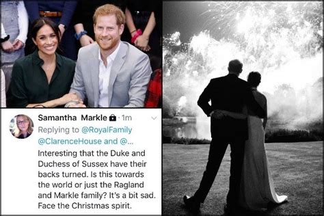 The cambridges' 2019 christmas card has been revealed online but the sussexes have not released theirs yet. Samantha Markle Slams Meghan Markle and Prince Harry Over Christmas Card - Eventznu.com