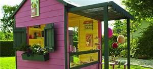 Cabane Exterieur Enfant : castorama cabanes de jardin pour enfants jardin ~ Melissatoandfro.com Idées de Décoration