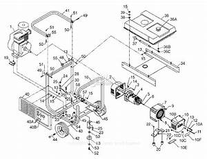 Powermate Formerly Coleman Pm0505622 Parts Diagram For Generator Parts