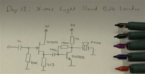 led christmas lights wiring diagram led how to find a faulty bulb in a christmas lights