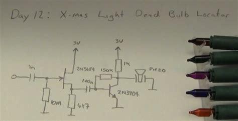 led   find  faulty bulb   christmas lights