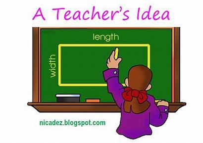 Perimeter Area Teaching Difference Between Formula Teacher