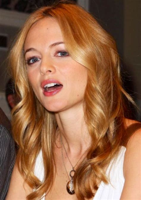 heather graham warm golden honey blonde  blonde