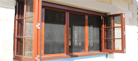 bush fire rated windows doors  screens woodview joinery