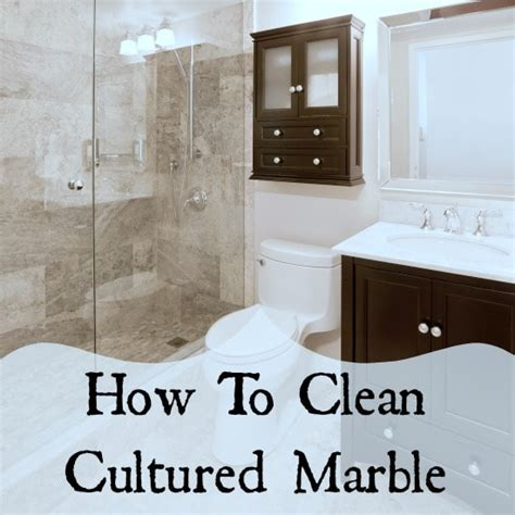 What To Use To Clean Marble Shower by Cultured Marble What To Clean It With Home Ec 101