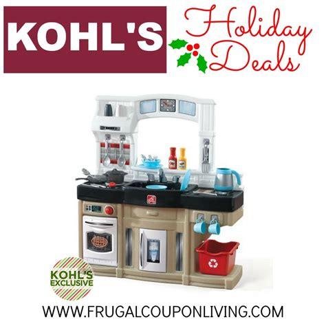 Kitchen Kohls by Step2 Kohl S Pre Black Friday Play Kitchen Sale 35 99