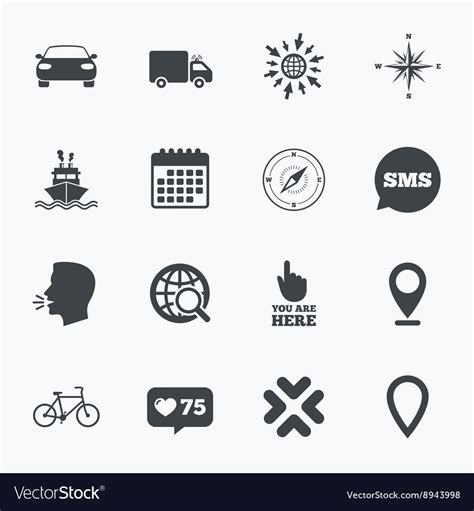 Navigation Gps Icons Windrose Compass Signs Vector By. Education Concept Banners. Coughing Signs. Raj Logo. Throat Pain Signs. Smoke Lettering. Ihbd Signs. Demonetization Banners. Mark Signs