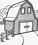 Barn Coloring Pages Printable Drawing Cartoon Complicated Farm Easy Adults Getdrawings Getcolorings Getcoloringpages Preschoolers sketch template