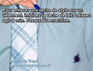 Enlever Tache De Stylo : comment enlever une tache de stylo bille sur du tissu ~ Melissatoandfro.com Idées de Décoration