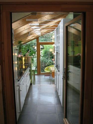 agrandissement cuisine extension maison bois puits de lumiere extension