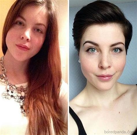 before and after haircuts 10 haircut transformations that will inspire you