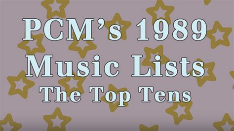 As early as 1989, de la soul was very vocally opposed to cliches in hip hop. 1989 Top Ten Music Charts