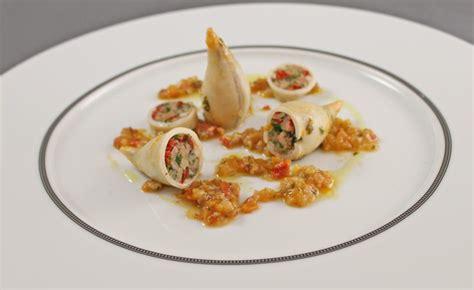 cuisine encornet recette d 39 encornets farcis par alain ducasse