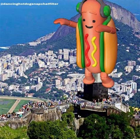 He S Taking Over Dancing Hot Dog Snapchat Filter Know Your Meme