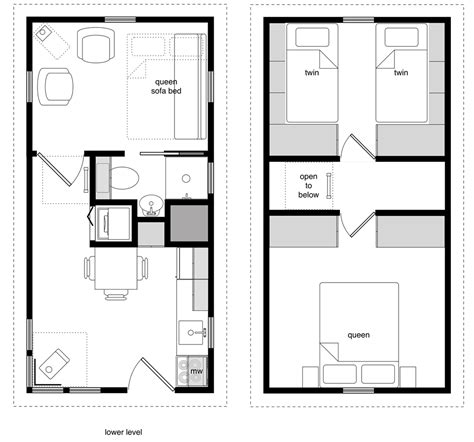 small two story cabin plans 12 24 twostory 3