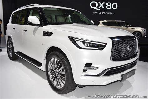 2018 Infiniti Qx80 Debuts At The 2017 Dubai Motor Show