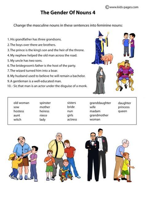 gender 2 worksheet