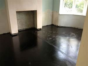 Renovation project, damp proofing and specialist re