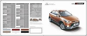 2015 Hyundai I20 Active Brochure